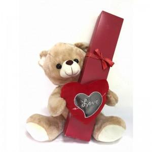 דובי אהבה - זר מתוק