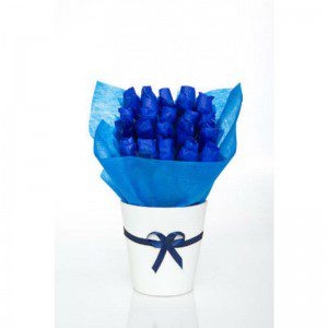 כחול משגע - זר מתוק